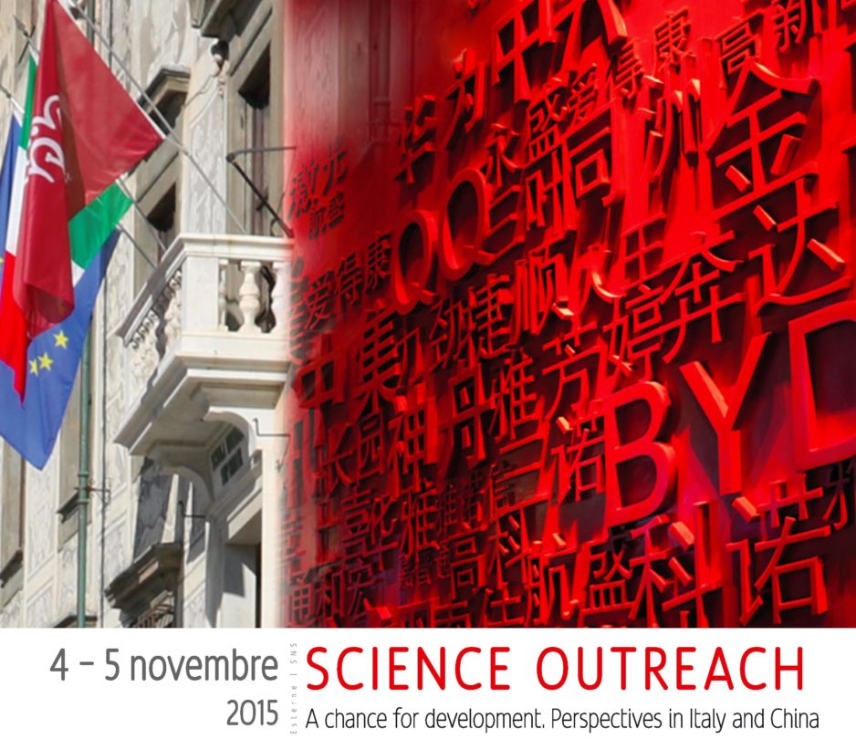 China-Italy meeting on outreach: a report