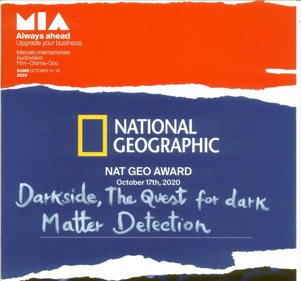 VIS wins the NAT GEO Award at MIA in Rome
