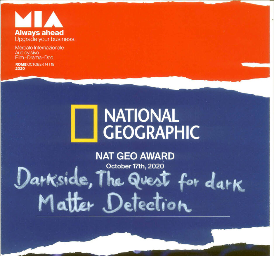 VIS wins the NAT GEO Award at MIA in Rome
